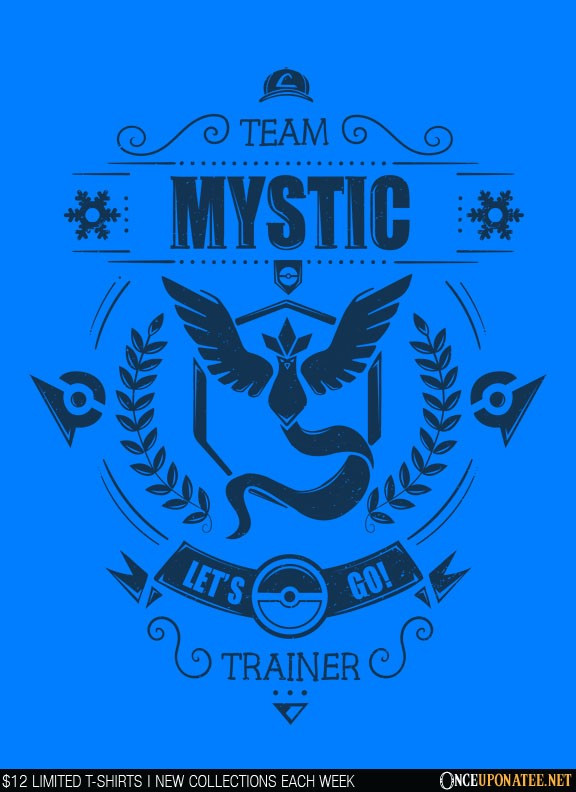 Once Upon a Tee: Team Mystic (Navy)