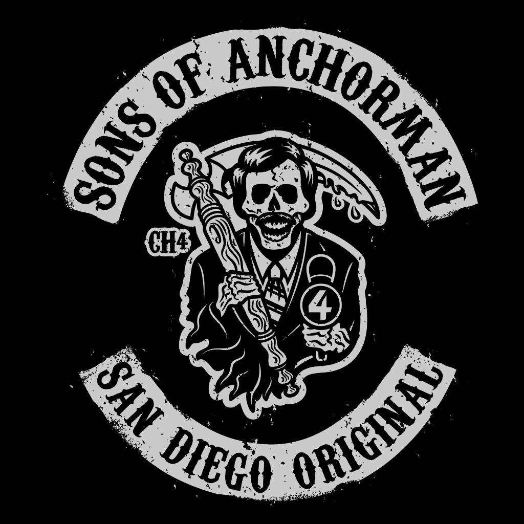 Pop-Up Tee: Sons of Anchorman