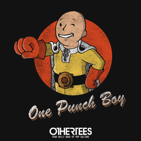 OtherTees: One Punch Boy