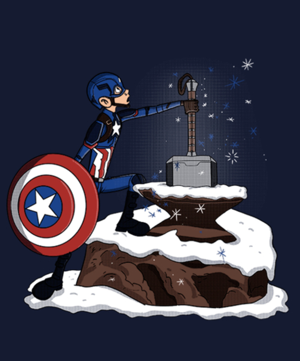 Qwertee: the hammer in the stone