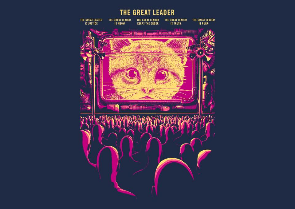 TeeFury: The Great Leader