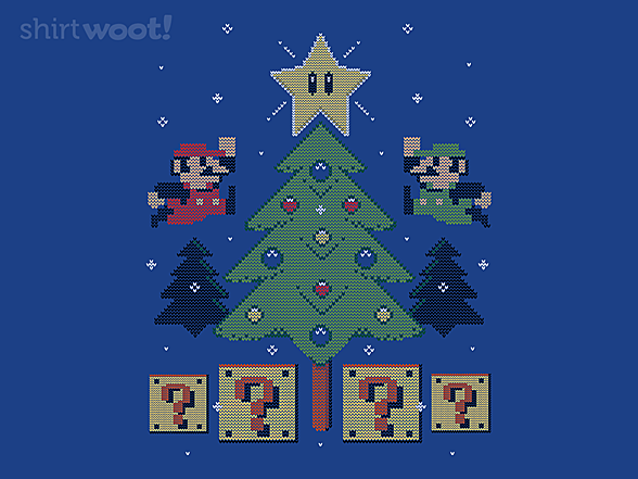 Woot!: Super Bros Christmas Sweater