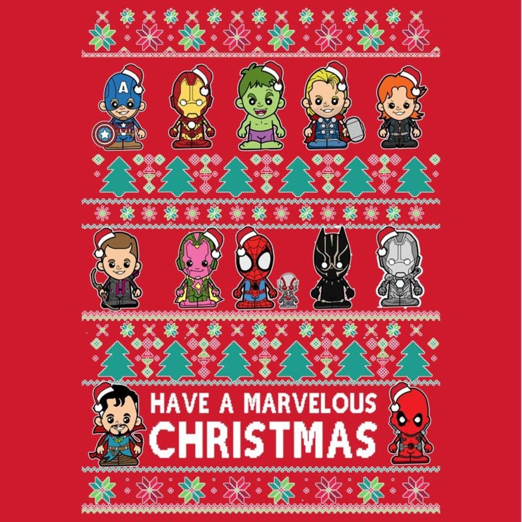 Snappy Kid: Lil Marvel Universe Christmas