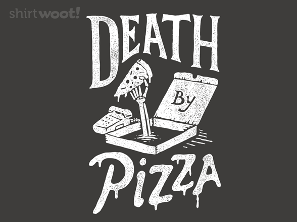 Woot!: Death By Pizza - $8.00 + $5 standard shipping