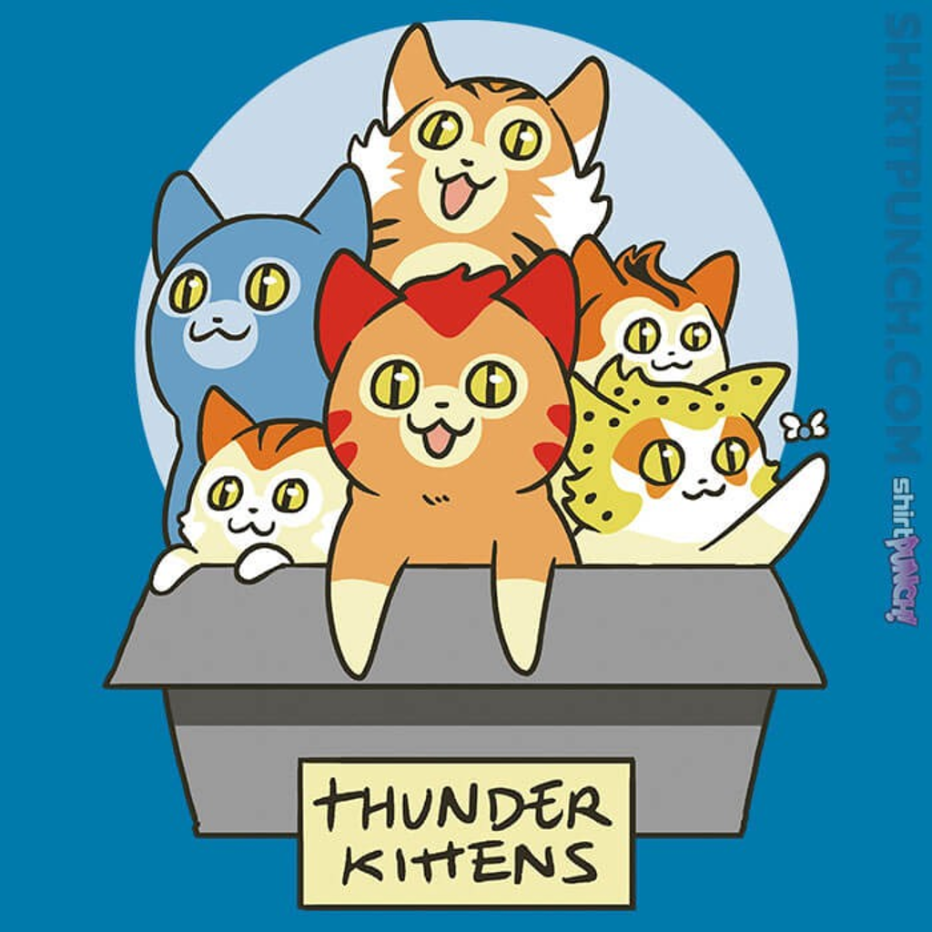ShirtPunch: Thunder Kittens