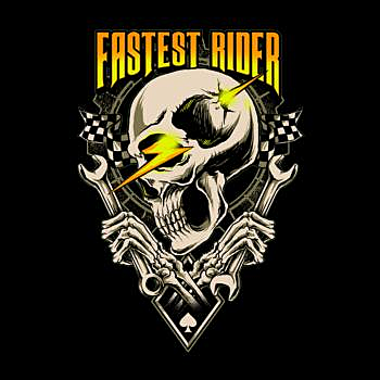 BustedTees: fastest rider