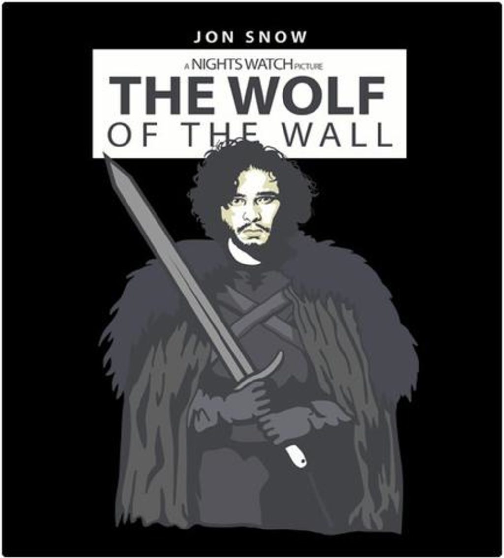 Shirt Battle: The Wolf of the Wall