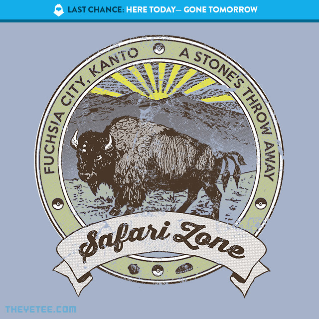 The Yetee: LAST CHANCE: Safari Zone