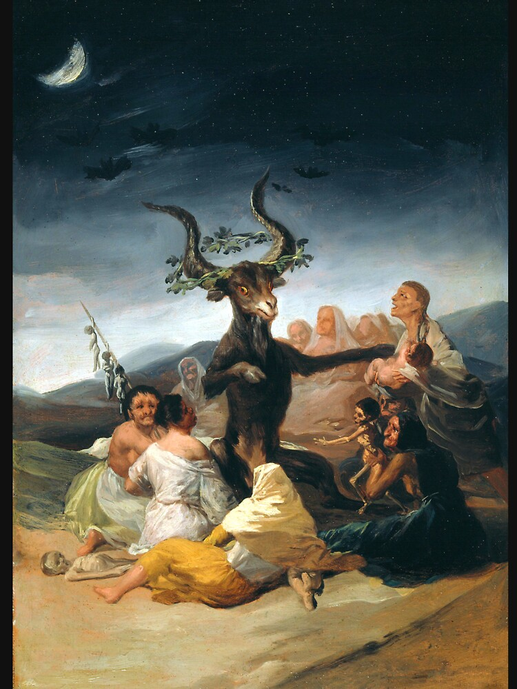 RedBubble: The coven - Goya