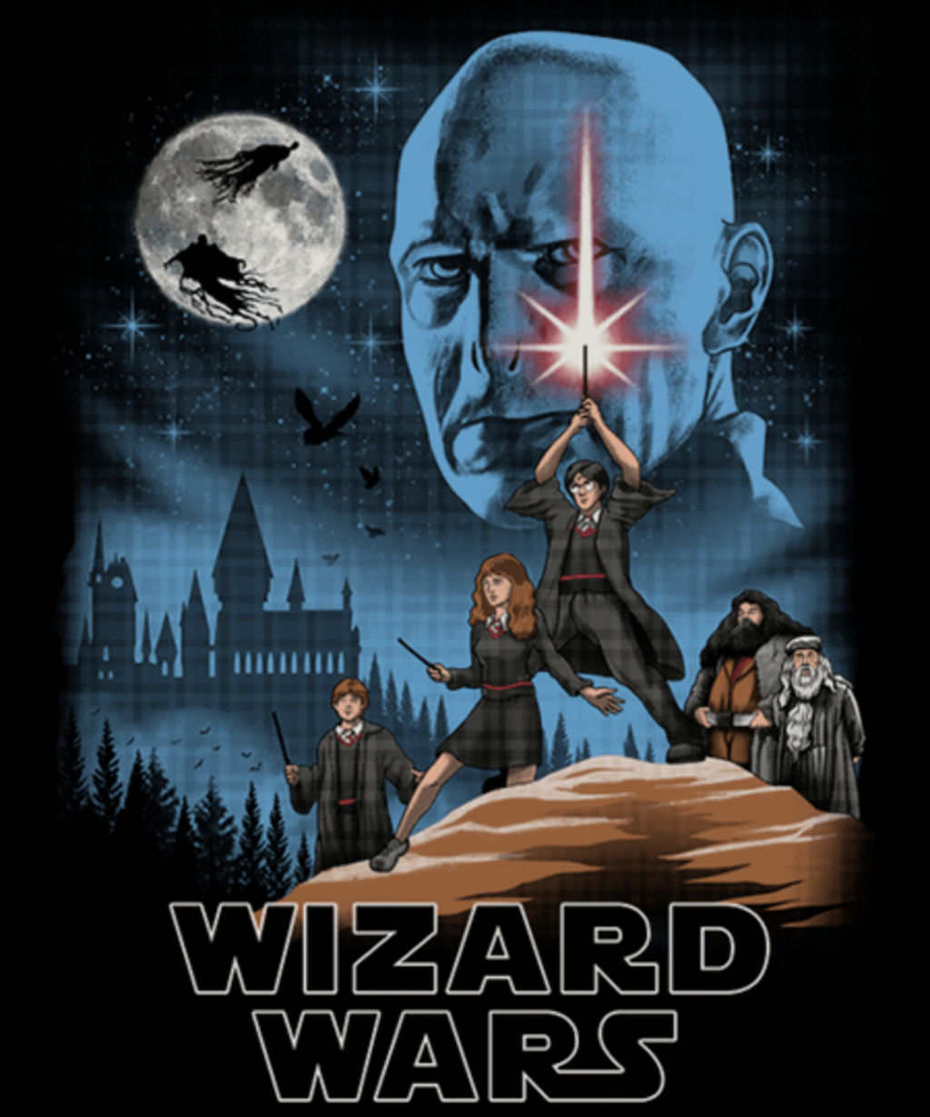 Qwertee: Wizard Wars