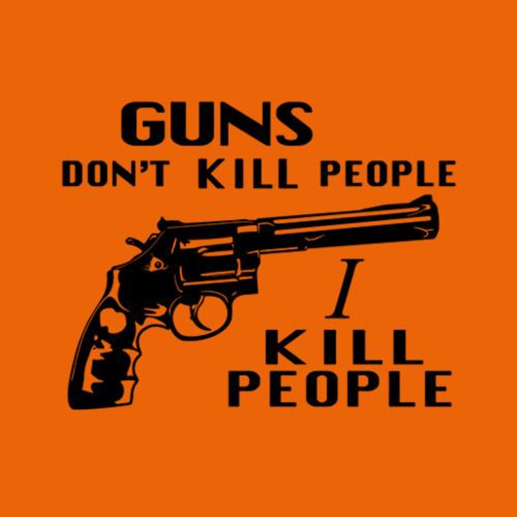 Five Finger Tees: Guns Don't Kill People, I Kill People T-Shirt