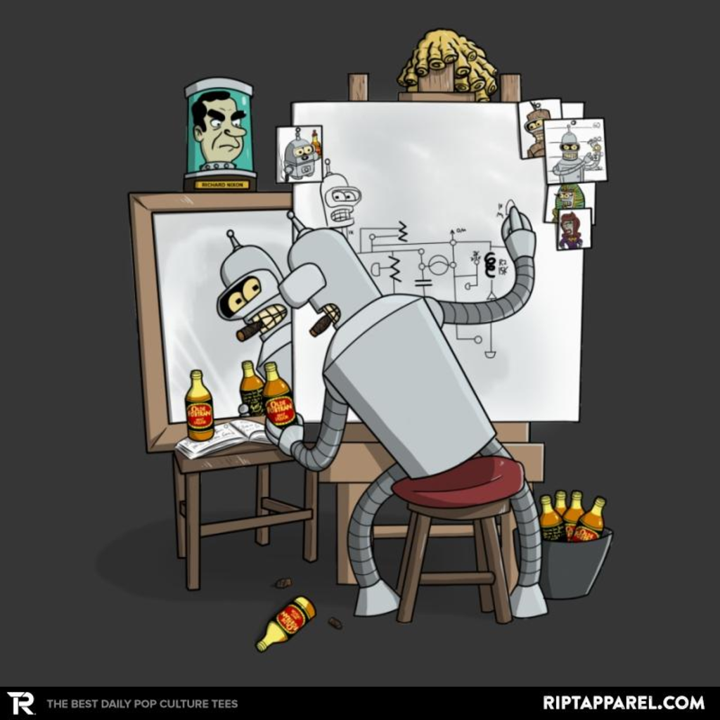 Ript: Bender Self Portrait