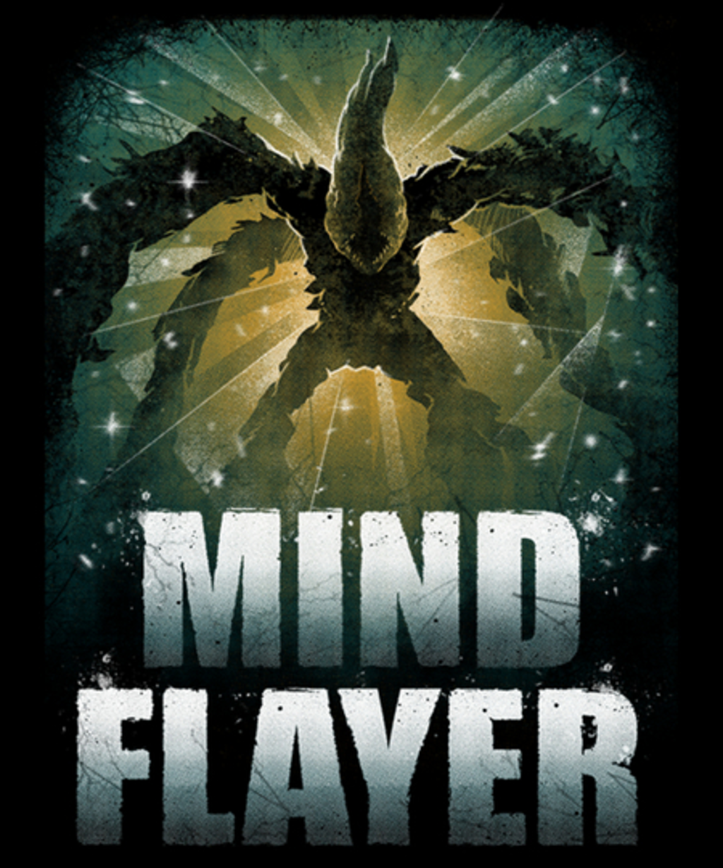 Qwertee: The Mind Flayer.