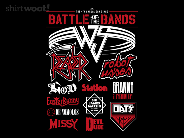 Woot!: Wyld Stallyns Battle of the Bands