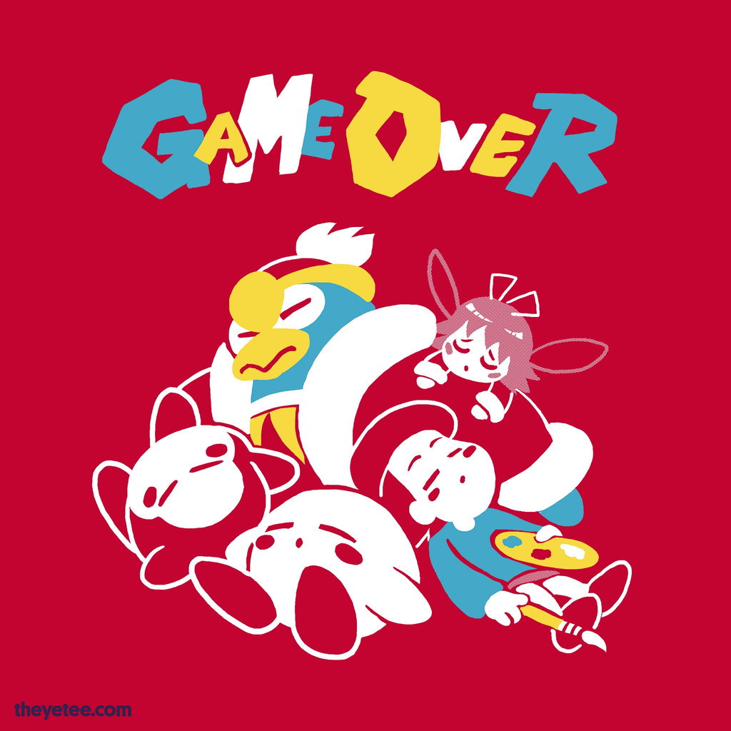The Yetee: Game Over!