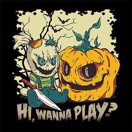 MeWicked: Playtime - Halloween Pumpkin and Undead Doll
