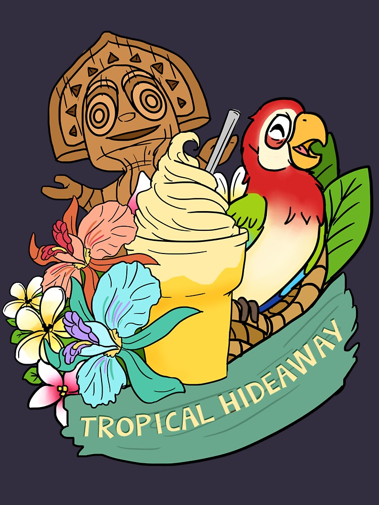 RedBubble: Tropical Hideaway