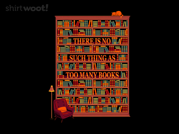 Woot!: There is No Such Thing as Too Many Books