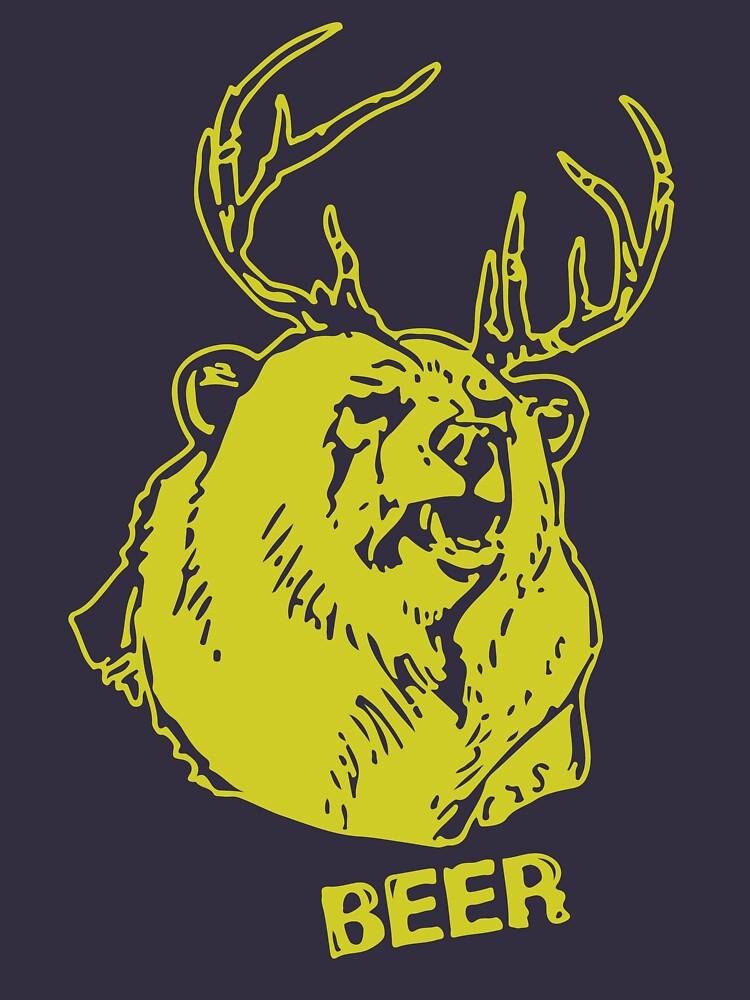 RedBubble: Macs Bear Plus Deer Shirt & More