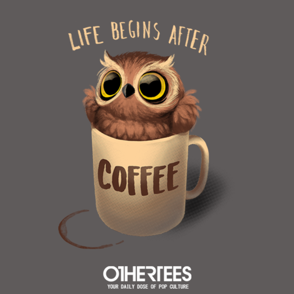 OtherTees: Owl Coffee
