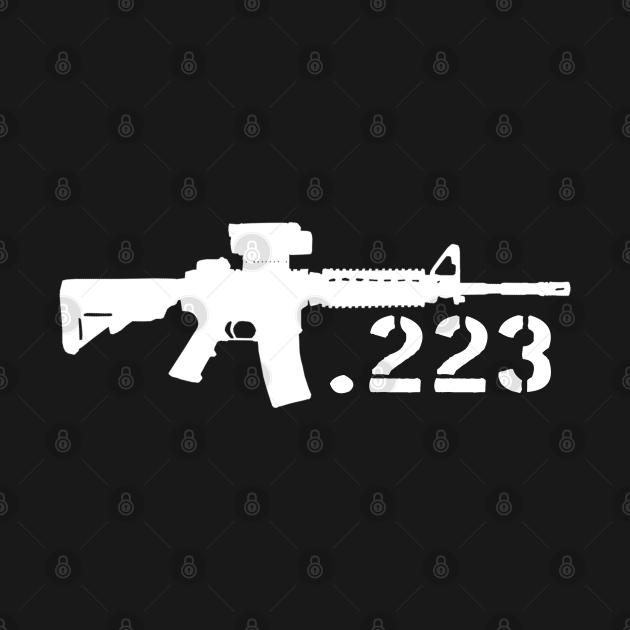 TeePublic: AR15 Rifle .223