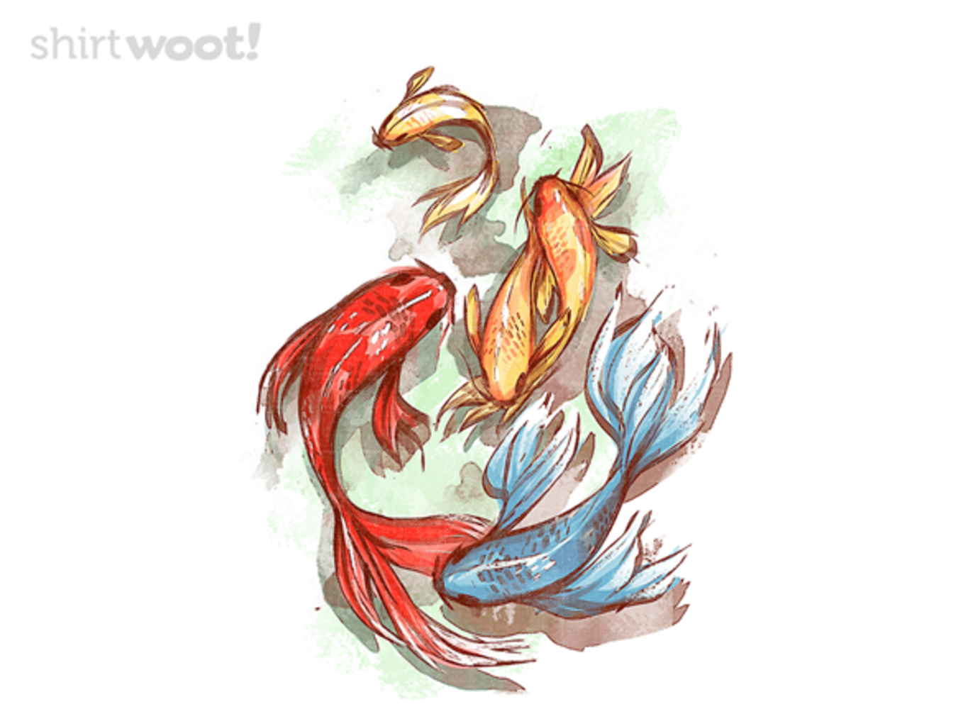 Woot!: Red Fish, Blue Fish