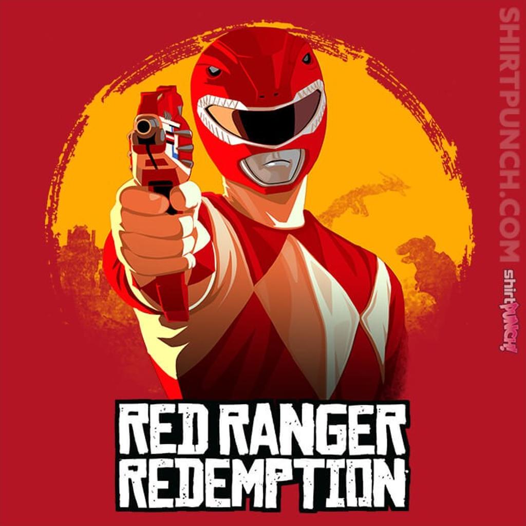 ShirtPunch: Red Ranger Redemption