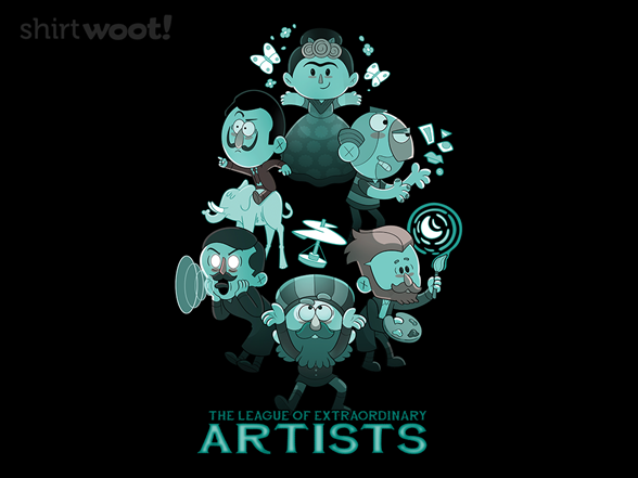 Woot!: League of Extraordinary Artists