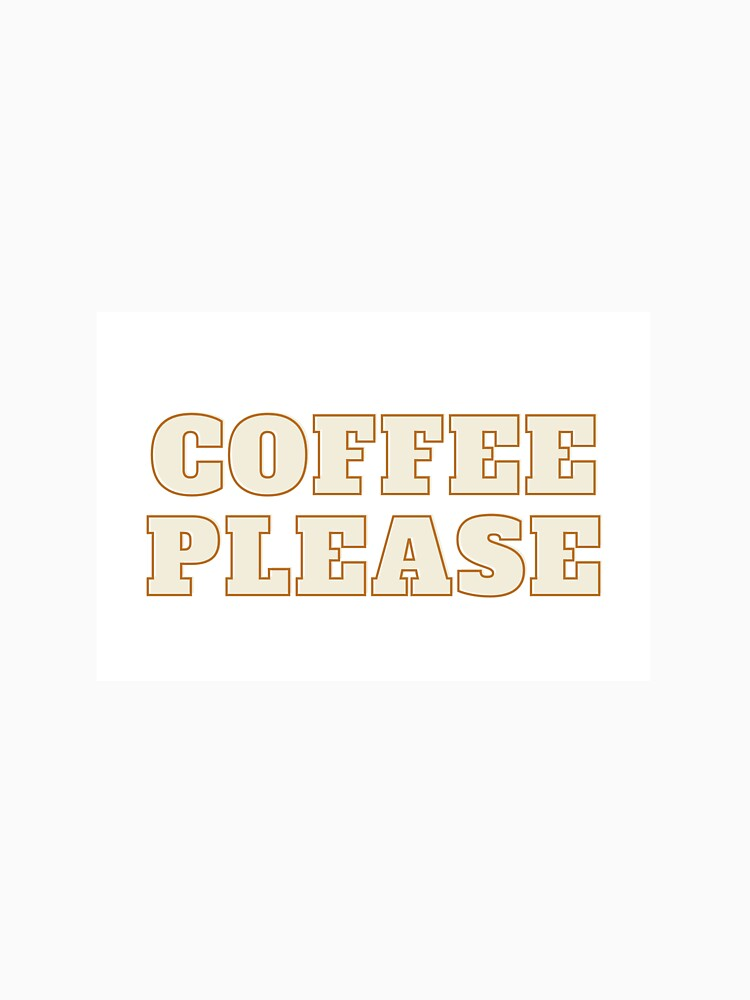 RedBubble: coffee please