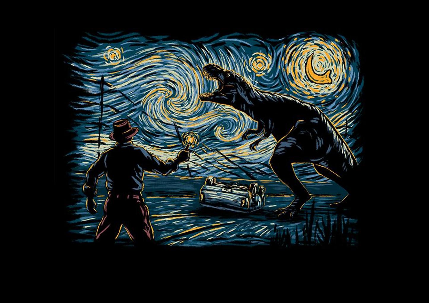 TeeFury: Jurassic Night