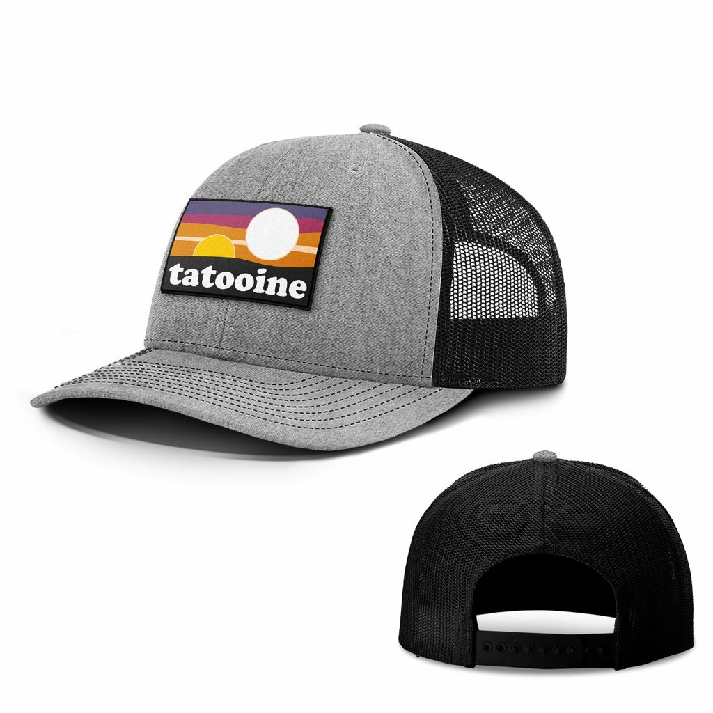 BustedTees: Tatooine Patch Hats