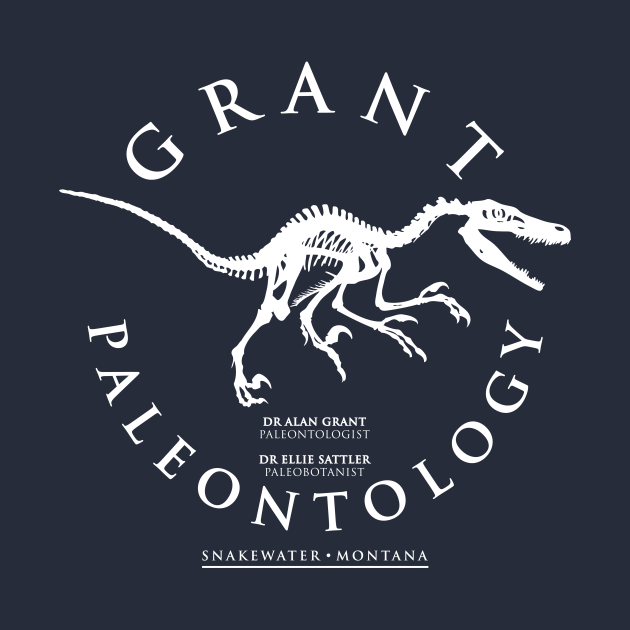 TeePublic: Grant's Paleontology