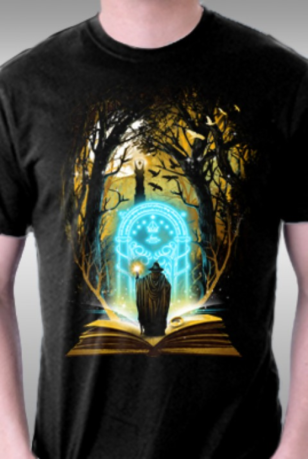 TeeFury: Book of Magic And Adventure