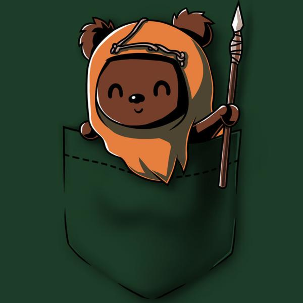 TeeTurtle: Ewok Pocket