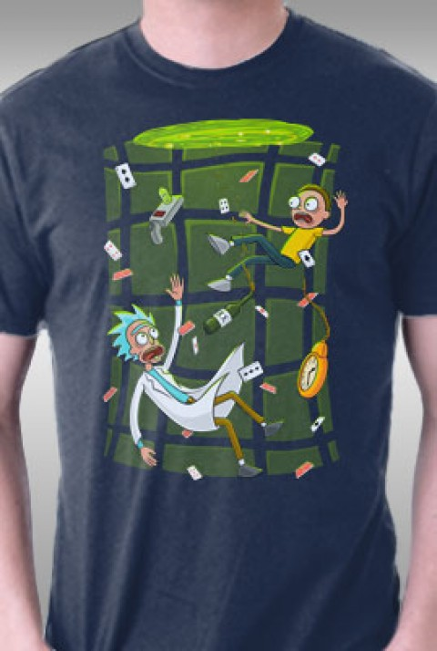 TeeFury: Ricked In Wondeland