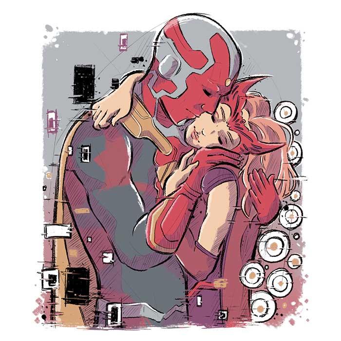 Once Upon a Tee: Wanda Kiss