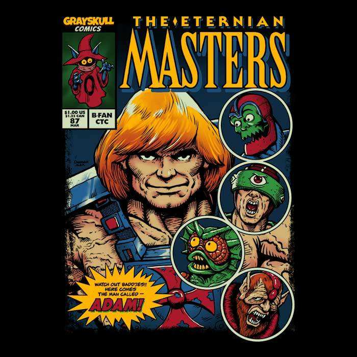 Once Upon a Tee: The Eternian Masters