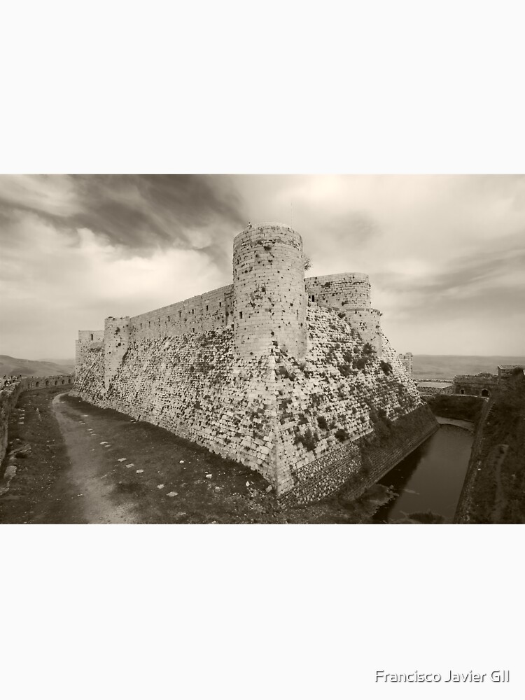 RedBubble: Castle of Crac de los Caballeros