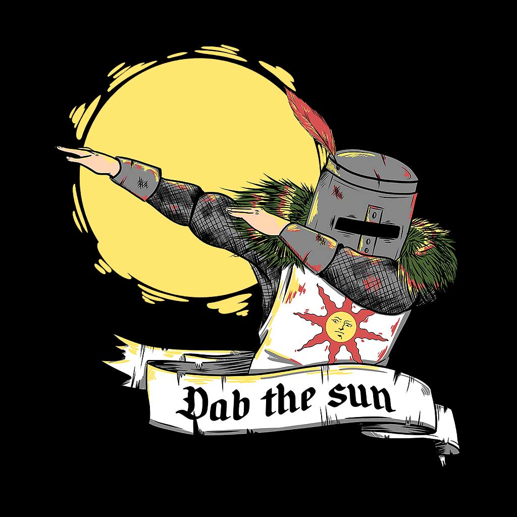 TeeTee: Dab the sun!
