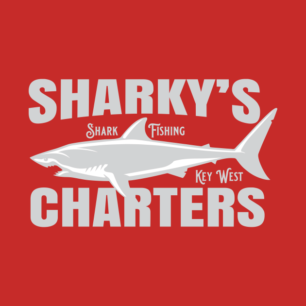 TeePublic: Sharky's Charters