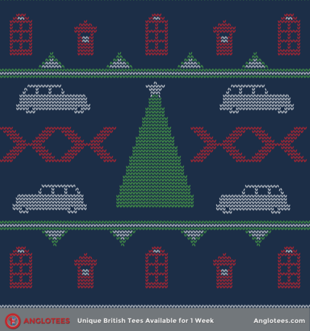 Anglotees: London Christmas Jumper