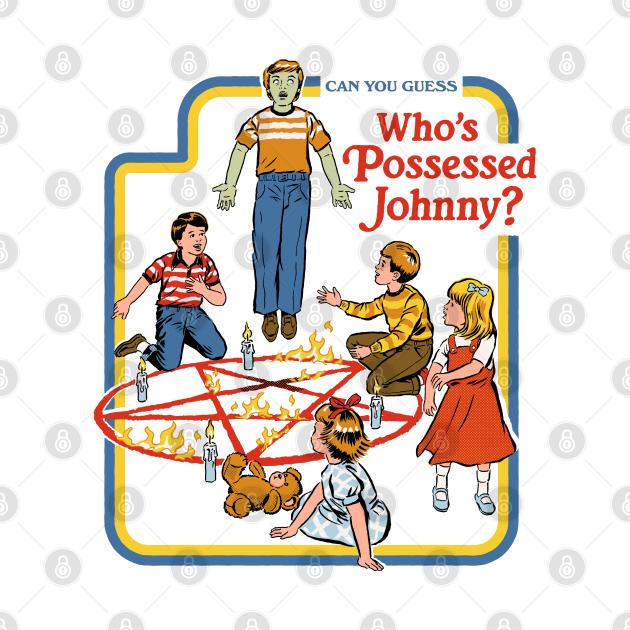 TeePublic: Who's Possessed Johnny
