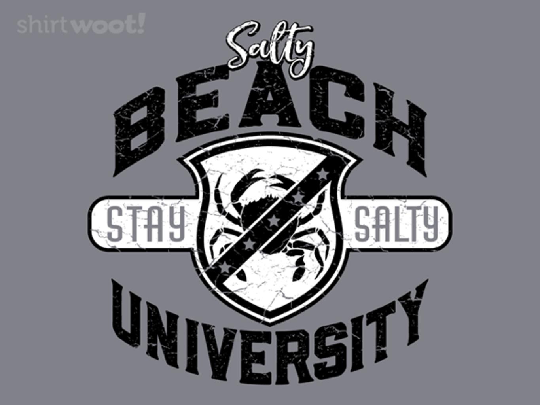 Woot!: Salty Beach U - $15.00 + Free shipping