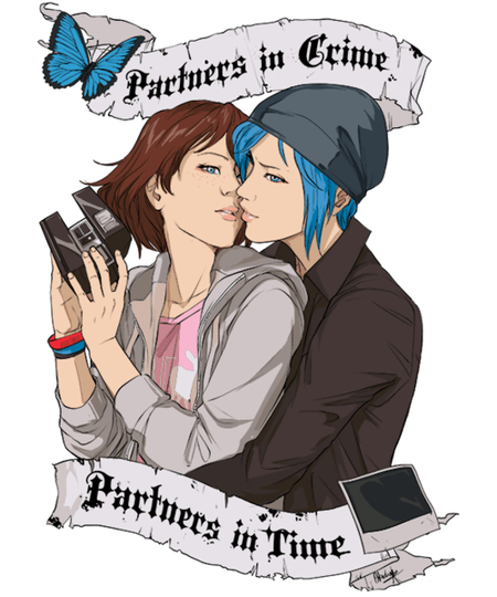 Qwertee: Partners in Crime, Partners in Time