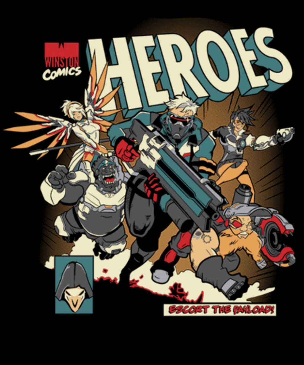 Qwertee: Escort The Payload