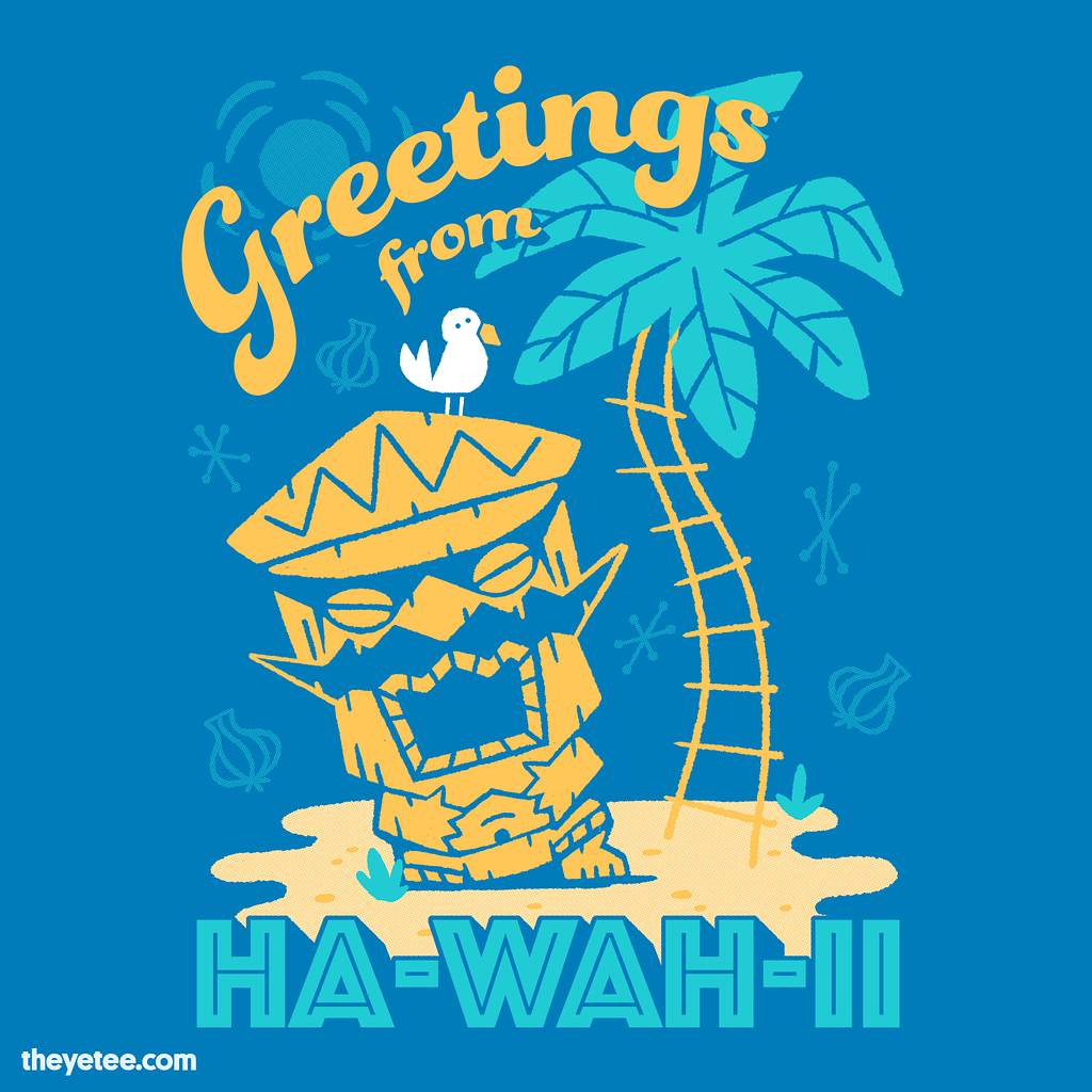 The Yetee: Ha-WAH-ii