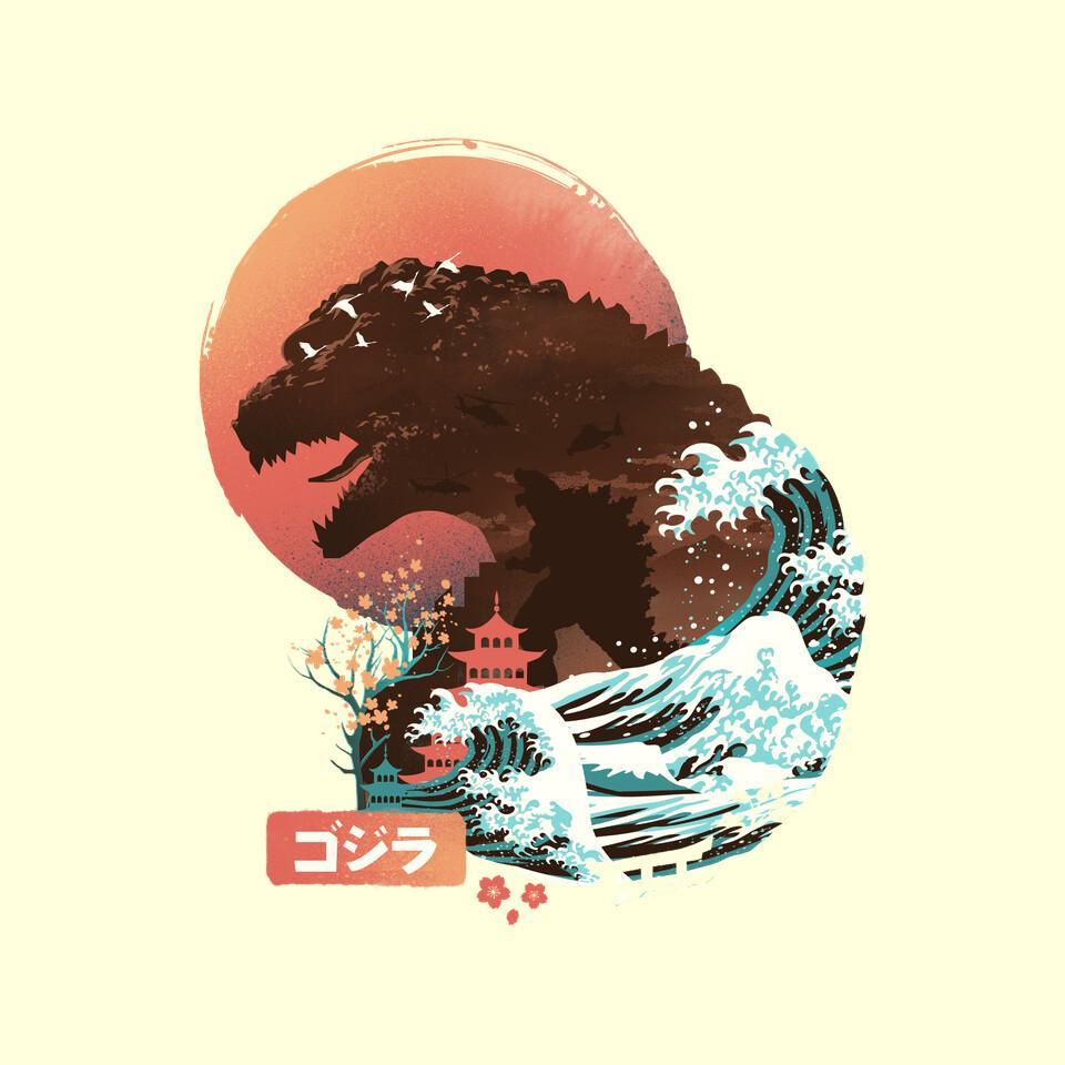TeeFury: Kaiju Edo