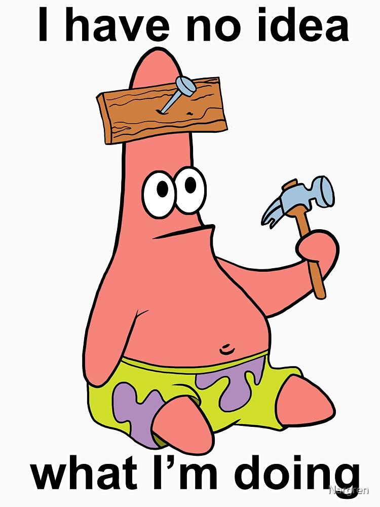 RedBubble: No Idea Patrick
