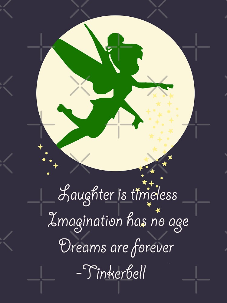 RedBubble: Dreams are forever | Tinkerbell