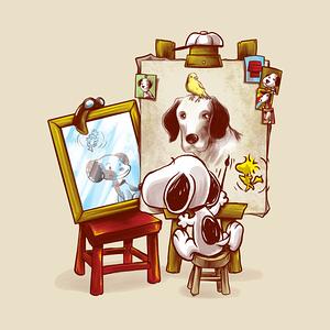 TeePublic: Triple Beagle Portrait